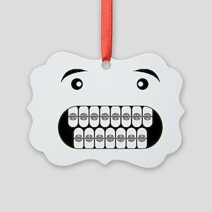 Bad Apple Picture Ornament