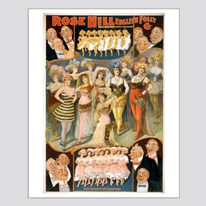 Rose Hill English Folly Co - Courier - 1900 Poster