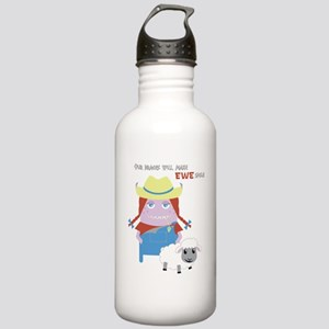 Farmer Annie Stainless Water Bottle 1.0L