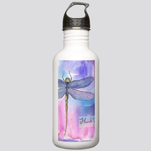 Dragonfly Thank You Stainless Water Bottle 1.0L