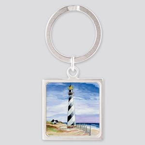 American Lighthouse Square Keychain