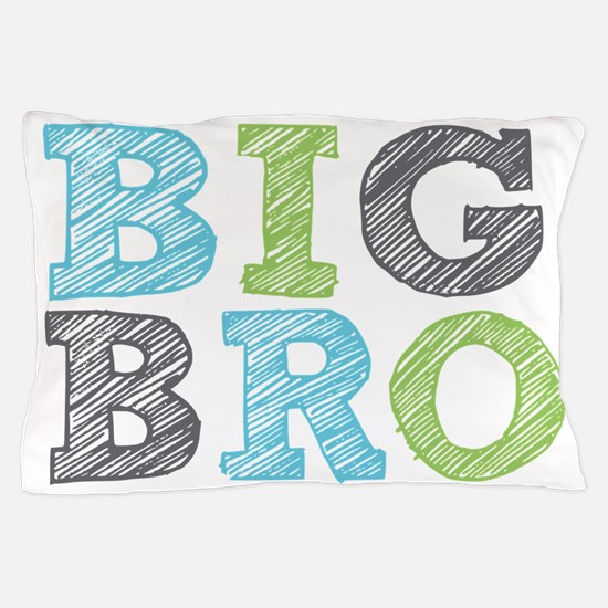 Sketch Style Big Bro Pillow Case