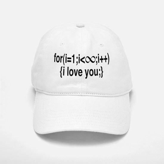 I Love You....Forever! Baseball Baseball Cap