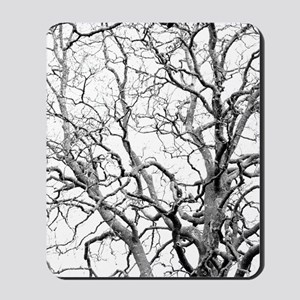Tree branches Mousepad