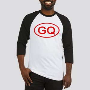 GQ Oval (Red) Baseball Jersey
