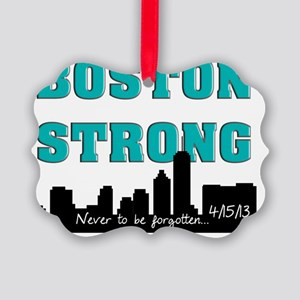 boston strong 56 Picture Ornament