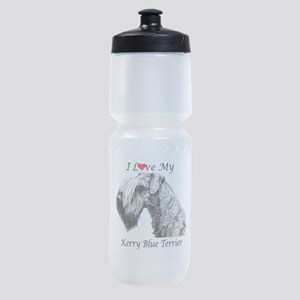 I Luv Kerry-3 Sports Bottle