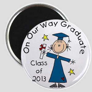 Class 2013 Girl Grad Magnet