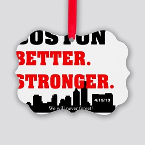 BOSTON STRONG 61 Picture Ornament