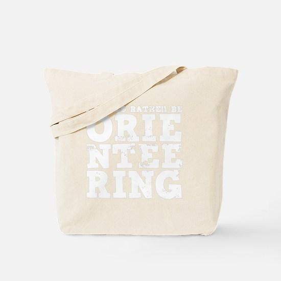 Orienteering Tote Bag
