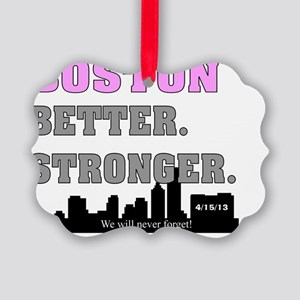 BOSTON STRONG 63 Picture Ornament