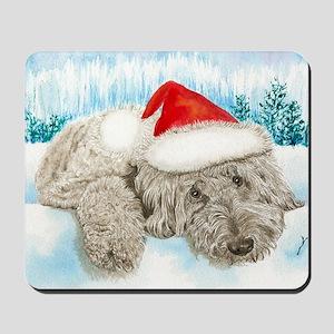 Christmas Labradoodle Mousepad