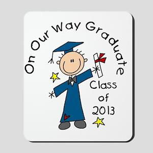 Boy Graduate 2013 Mousepad