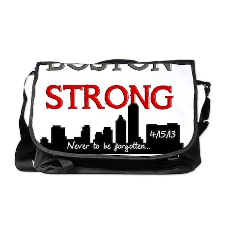 boston strong 58 Messenger Bag