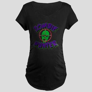 Zombie Hunter #1 Maternity Dark T-Shirt