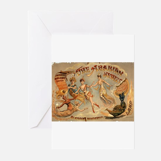 The Arabian nights Aladdin's wonderful lamp - Cour