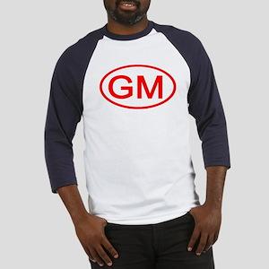 GM Oval (Red) Baseball Jersey