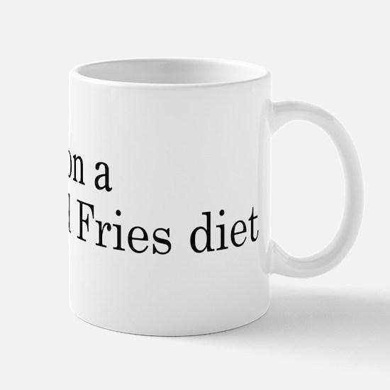 Burger And Fries diet Mug