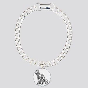 Blowjob bones Charm Bracelet, One Charm