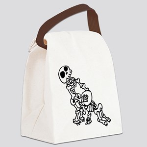 Blowjob bones Canvas Lunch Bag