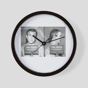 bush-mug-BUT Wall Clock