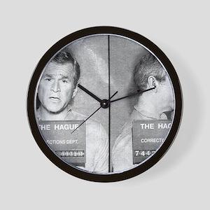 bush-mug-LG Wall Clock