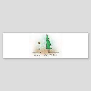 Meet the Trees Bumper Sticker