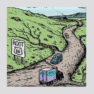 Root 66 Tile Coaster
