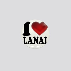 I Heart Lanai Mini Button