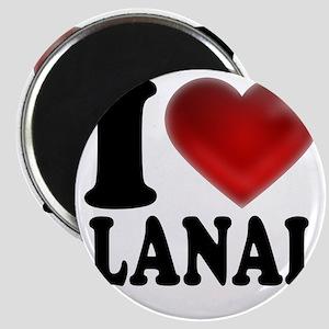 I Heart Lanai Magnet