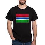 Gambia Flag T Shirts Dark T-Shirt
