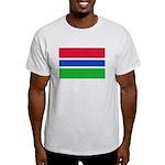 Gambia Flag T Shirts Light T-Shirt