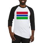 Gambia Flag T Shirts Baseball Jersey