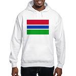 Gambia Flag T Shirts Hooded Sweatshirt