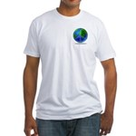 Peace Planet Fitted T-Shirt