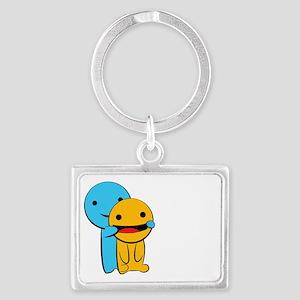Make You Smile Landscape Keychain