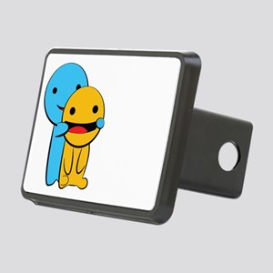 Make You Smile Rectangular Hitch Cover