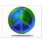 Peace Planet Small Poster