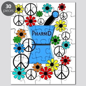pharmd iPhone blue Puzzle