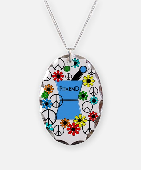 pharmd iPhone blue Necklace