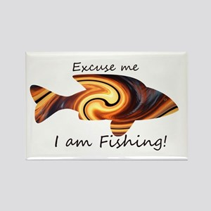 Excuse me I am fishing! Magnets