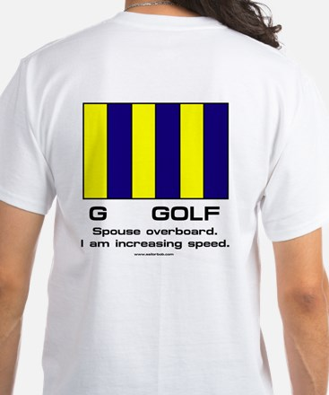 Spouse Overboard. T-Shirt