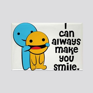 Make You Smile Rectangle Magnet
