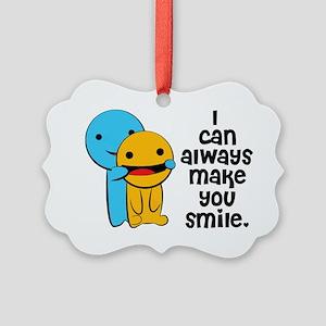 Make You Smile Picture Ornament