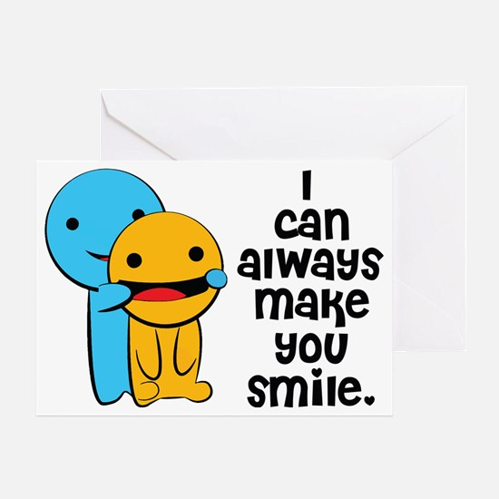 Make You Smile Greeting Card