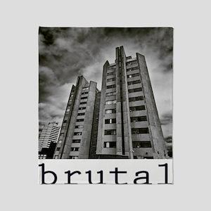 brutalism Throw Blanket
