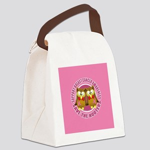 Save the Hooters Circle Canvas Lunch Bag