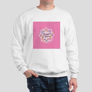 Breast Cancer Lotus Sweatshirt