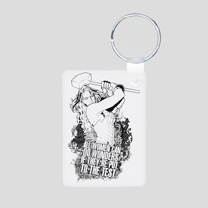 Wonder Aluminum Photo Keychain