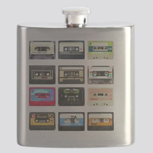 mix tape from the 80s Flask